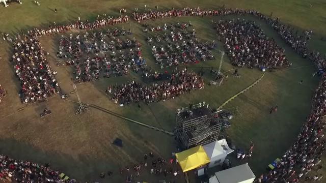 Rockin1000 cesena drone