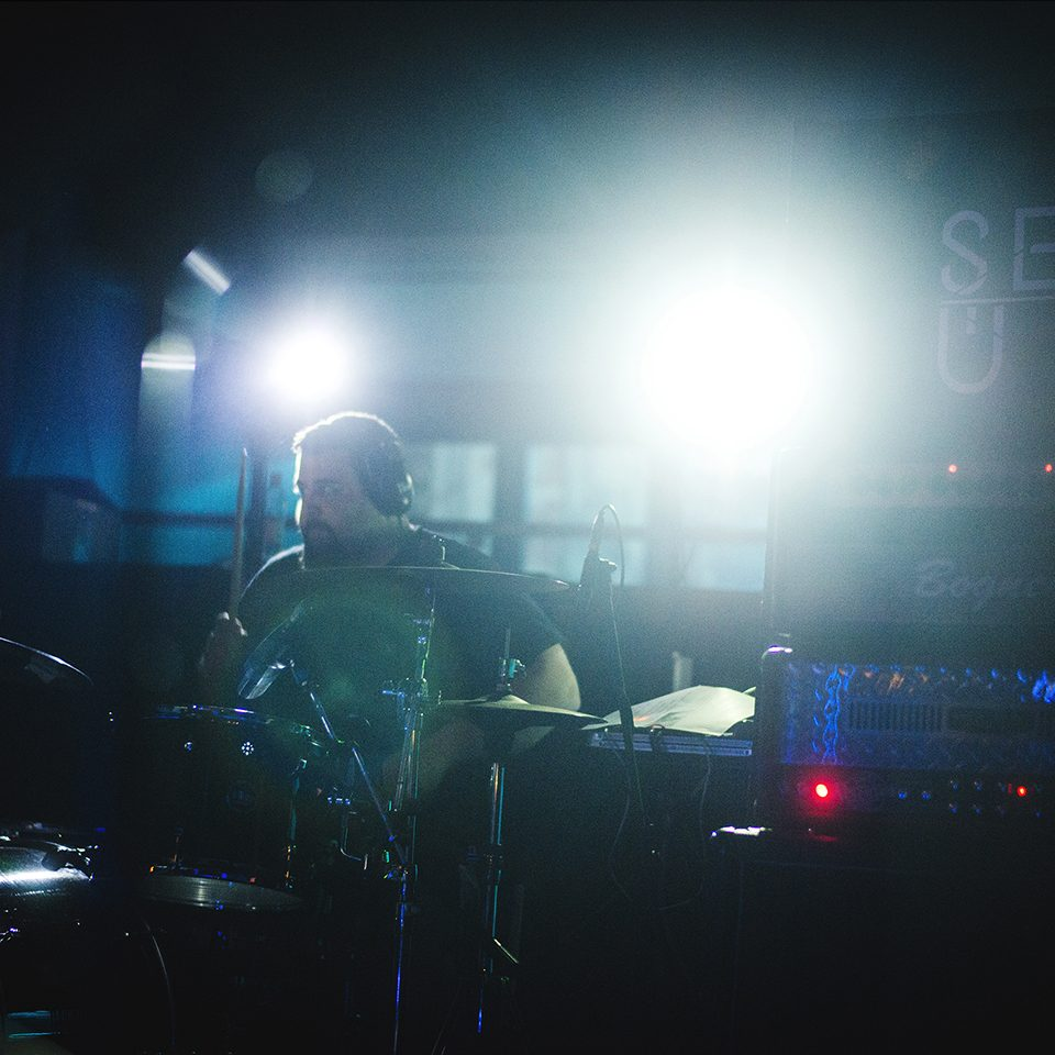 Several Union live picture preview Rising Sun in Forlì, drummer details
