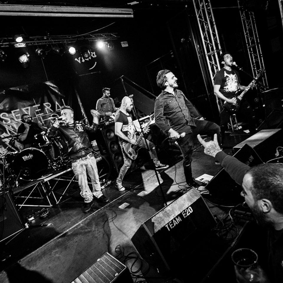 Several Union live picture release party Rising Sun at Vidia Club, Cesena