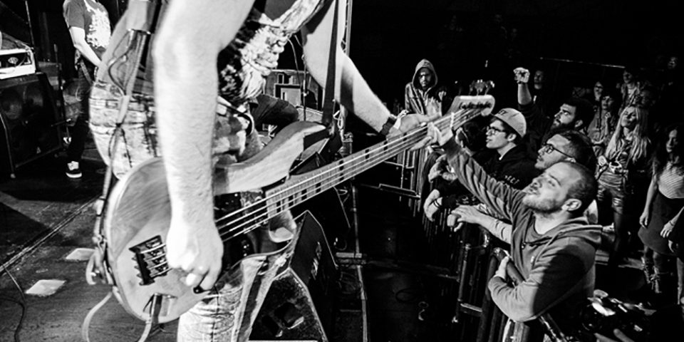 Several Union live picture release party Rising Sun at Vidia Club, Cesena, bass details