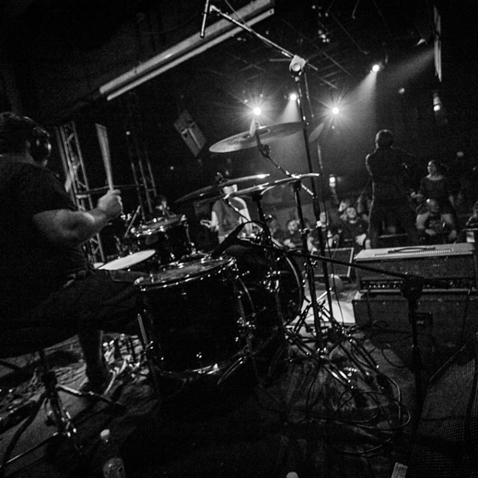 Several Union live picture release party Rising Sun at Vidia Club, Cesena, drummer details