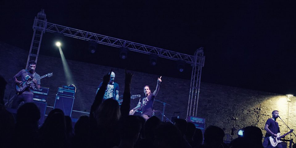 Several Union live picture in Cesena with Architects